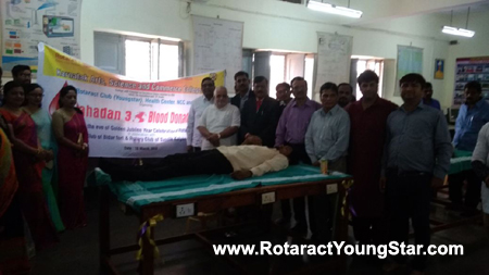 Mahadan 3 Blood Donation Camp by YoungSTAR Rotaract Club  bidar